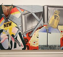 Nomad by James Rosenquist 1963 by Gilda Axelrod