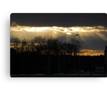 Rays at Patriot Place Canvas Print