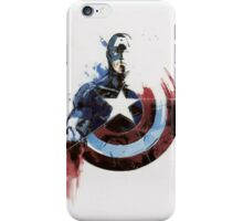 Captain America Shield Drawing iPhone Case/Skin