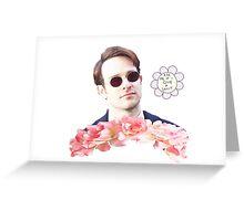Matt Murdock + Flowers Greeting Card