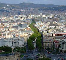 Barcelona, Las Ramblas by Themis