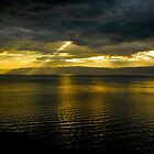 Sun Shines Over Israel and the Dead Sea  by pdgoodman