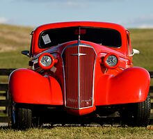 1937 Chevrolet - Antique Car in Virginia Field by pdgoodman
