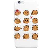 Fuzzballs Kawaii Tiger iPhone Case/Skin