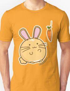 Fuzzballs Bunny Carrot Tease Unisex T-Shirt