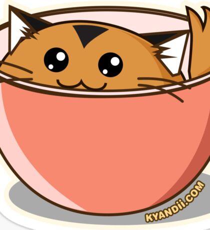 Fuzzballs Tiger Cereal Sticker