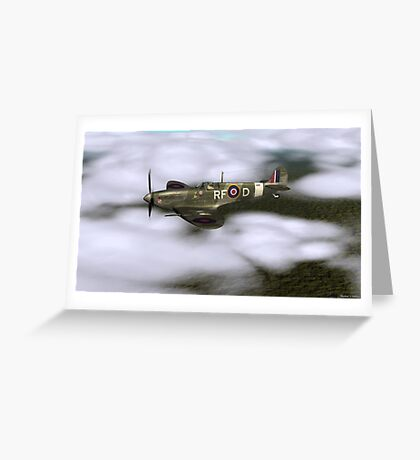 MK Vb SPITFIRE  Greeting Card