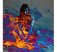 Inner Flame Photographic Print