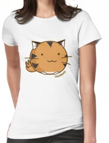 Fuzzballs Tiger Womens Fitted T-Shirt