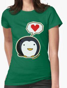 Fuzzballs Penguin Womens Fitted T-Shirt