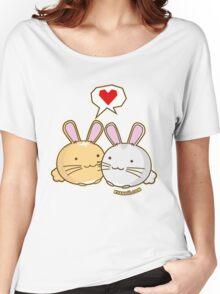 Fuzzballs Bunny Cuddles Women's Relaxed Fit T-Shirt
