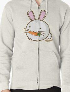 Fuzzballs Bunny Carrot Zipped Hoodie