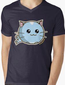 Fuzzballs OMG Kitty Mens V-Neck T-Shirt