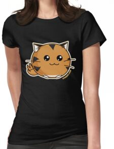 Fuzzballs OMG Tiger Womens Fitted T-Shirt