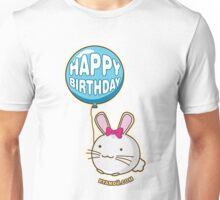 Fuzzballs Happy Birthday Bunny Unisex T-Shirt