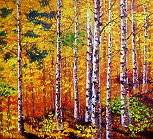 Aspen Forest by sesillie