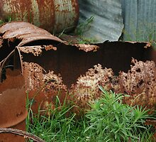 Rusty Drums - NSW by CasPhotography