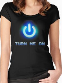 Turn Me On Women's Fitted Scoop T-Shirt