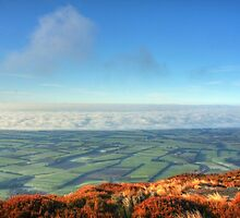 Canterbury - Above the Clouds by Paul Duckett