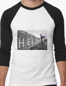 Dagenham Heathway Tube Station Men's Baseball ¾ T-Shirt