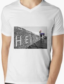 Dagenham Heathway Tube Station Mens V-Neck T-Shirt