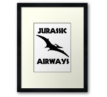 Jurassic Airways Framed Print