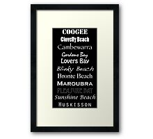 Favourite Places Framed Print
