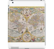 Antique Map of the World & Heavens2 iPad Case/Skin