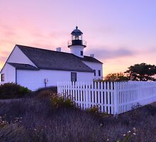 Cabrillo Lighthouse in HDR by Gary Lange