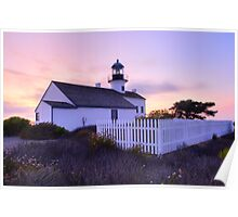 Cabrillo Lighthouse in HDR Poster