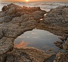 Sunset in Carmel by the Sea by Gary Lange