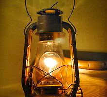 An Old Lantern by Pam Moore