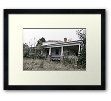 Anybody Home? Framed Print