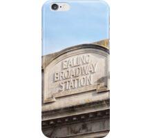 Ealing Broadway Tube Station iPhone Case/Skin