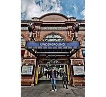Earl's Court Tube Station Photographic Print