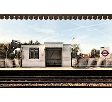 East Acton Tube Station Photographic Print