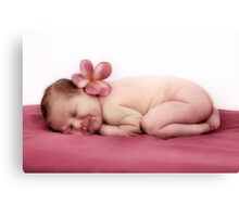 Summer Baby Canvas Print