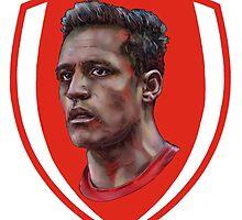 Alexis Sanchez - Arsenal footballer by ArsenalArtz