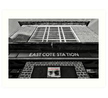 Eastcote Tube Station Art Print