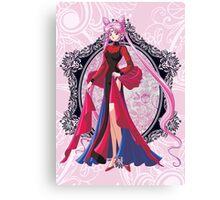 Black Lady Sailor Moon R Canvas Print