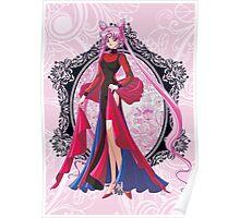 Black Lady Sailor Moon R Poster