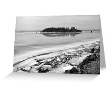 Hudson River Winter Greeting Card