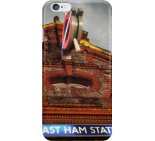 East Ham Tube Station iPhone Case/Skin