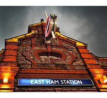 East Ham Tube Station Photographic Print