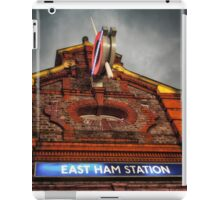 East Ham Tube Station iPad Case/Skin