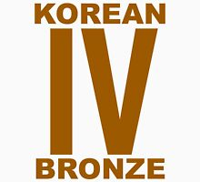 Korean Bronze IV  Unisex T-Shirt