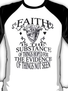 Faith_Black T-Shirt