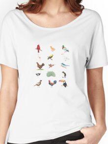 Birds Women's Relaxed Fit T-Shirt