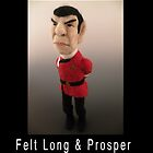 Li'l Spock - Needle Felted Art Doll by feltalive
