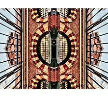 East Putney Tube Station Photographic Print